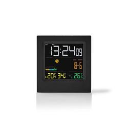 nedis Kochthermometer Wecker - Wettervorhersage Innen- und Außen - Schl