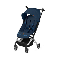 gb GOLD Kinder-Buggy Buggy Pockit+ All-City FE, Vanilla Beige blau