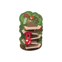 Oribel Lernspielzeug VertiPlay Abenteuer Baumhaus, Klebt an der Wand und steht nicht im Weg herum