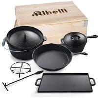 Ribelli Bratentopf, Dutch Oven Set 500606