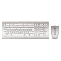 Cherry DW 8000 Wireless Tastatur US Set weiß/silber (JD-0310EU)
