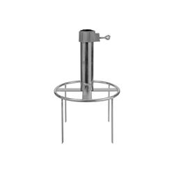 Delschen Bodenhülse Erdspieß Sonnenschirm 4 Adapter-Ringe, Stamm 26-55 mm