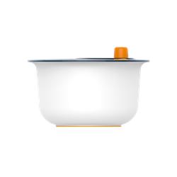 Fiskars Functional Form Salatschleuder Plastik Weiß