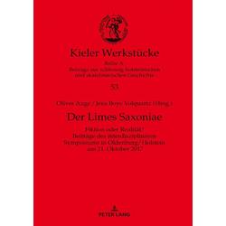 Der Limes Saxoniae als Buch von