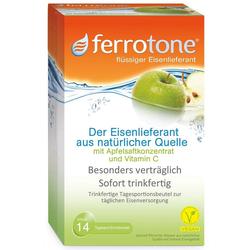ferrotone Eisen mit Apfelsaftkonzentrat und Vitamin C Beutel