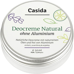 DEO CREME ohne Aluminium natural 50 ml