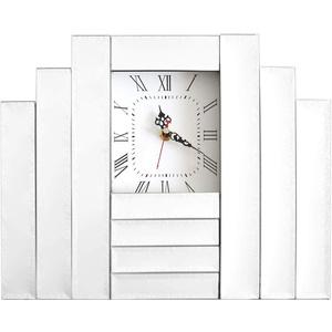 Spiegel Uhr Standuhr Dekouhr Wohnzimmer