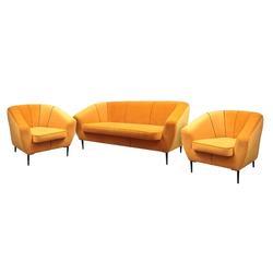 Komplet wypoczynkowy Riotto sofa i dwa fotele