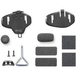 Interphone Tour / Sport / Link / Urban Reserveonderdelen Kit, zwart, Eén maat