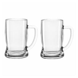 LEONARDO Gläser-Set Taverna Bierseidel 2er Set 330 ml, Glas