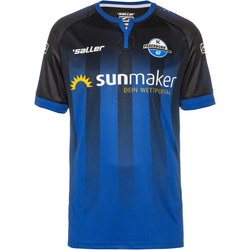 Saller SC Paderborn 07 19/20 Heim Trikot Herren in schwarz-blau, Größe M schwarz-blau M