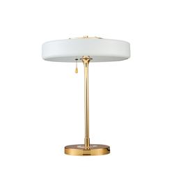 Lampa stołowa Chicago 43 cm biała