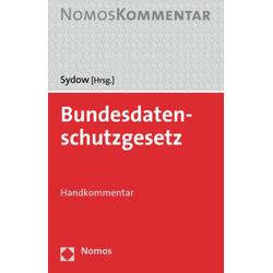 Bundesdatenschutzgesetz als Buch von