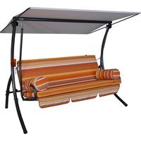 Angerer Dream Design Cadiz orange/grau 3-Sitzer