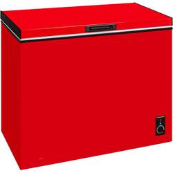 Gefriertruhe, 98 cm breit, 197 Liter, Gefriertruhe, 12591509-0 rot rot