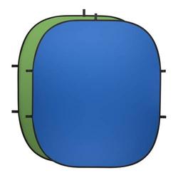 walimex pro Falthintergrund grün/blau, 2