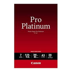 Canon Fotopapier PT-101 DIN A3 glänzend 300 g/qm 20 Blatt