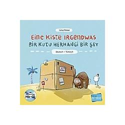 Eine Kiste Irgendwas  Deutsch-Türkisch  m. Audio-CD. Lena Hesse  - Buch