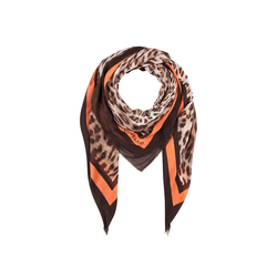 Extrafeines Leo-Tuch aus Modal Codello camel