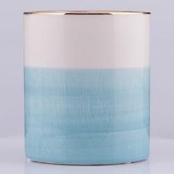 Övriga varumärken Topf Blau/Weiß 13 cm