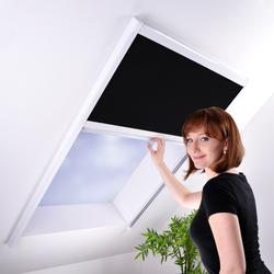 Sonnenschutz-Plissee für Dachfenster - Dachfensterplissee Sonnenschutzplissee Sichtschutz