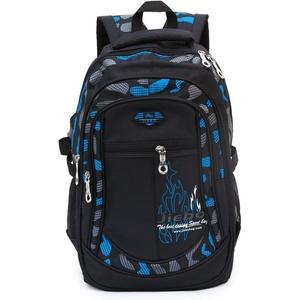 Kinderrucksäcke, Rucksäcke Schule Buch Tasche Travel Sport Outdoor Rucksack für Schüler Schwarz und blau