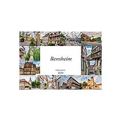 Bensheim Impressionen (Tischkalender 2020 DIN A5 quer)