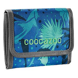 Coocazoo CashDash Tropical Blue Geldbeutel