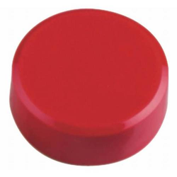 Kraftmagnet 34mm Durchmesser 2kg Haftkraft 20 Stück rot