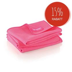 JEMAKO® Trockentuch mittel (45 x 60 cm) 3er-Pack - pink