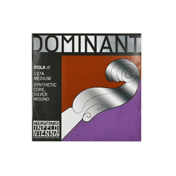 Thomastik Dominant Viola D-Saite 4/4 137A - Mittel - Nylonkern