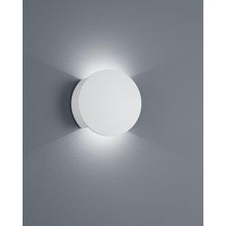 Helestra LED-Wandleuchte PONT weiß Gipsoptik 18/1947.07