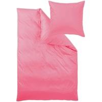 Curt Bauer Uni Mako-Satin pink (135x200+40x80cm)