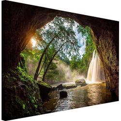 Wandbild Steinhöhle