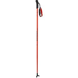 Langlauf Skistock PRO JR, rot/schwarz schwarz/rot Gr. 80