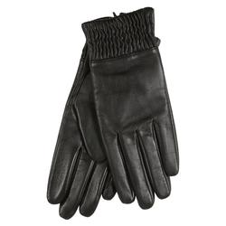 er piu Lederhandschuhe mit praktischem Bündchen schwarz 7,5
