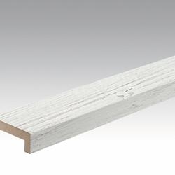 Meister Sockelleisten Winkelabdeckleisten White Pine 4088 - 2380 x 60 x 22 mm -