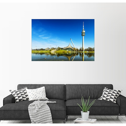 Posterlounge Wandbild, München - Olympiapark 30 cm x 20 cm
