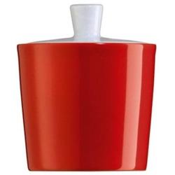 Zucker-/Marmeladentopf 0,23 l Form Tric - hot (rot)