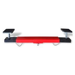 vidaXL Werkzeug vidaXL Querträger für Wagenheber 2 Tonnen Rot