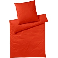 Yes for Bed Pure & Simple Uni chili (155x220+80x80cm)
