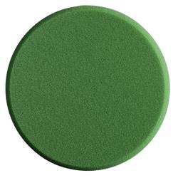 SONAX PolierSchwamm (medium) StandardPad, Ø 160 mm, Mittelharter feinporiger Schwamm zum maschinellen Polieren von Lacken, Farbe: grün