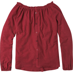 Carmen-Shirt, rot, Gr. 152/158 - 152/158 - rot