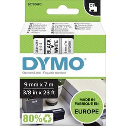 DYMO Schriftband D1 40913 Bandfarbe: Weiß Schriftfarbe:Schwarz 9mm 7m
