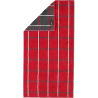 CAWÖ Noblesse Square Handtuch 50 x 100 cm rot