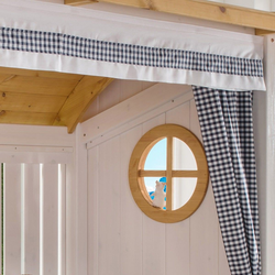Infanskids Vorhang-Set für Alpenhütte, VERSANDKOSTENFREI