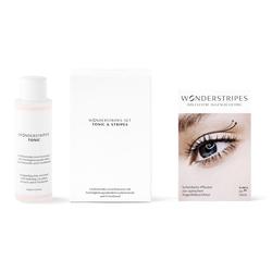 WONDERSTRIPES Augenlid-Tape Starter-Set, 5-tlg., Augenlid-Korrektur Pflaster in 3 Größen & Erfrischendes Tonic
