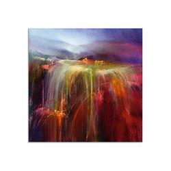 Artland Glasbild Überfluss, Gewässer (1 Stück) 40 cm x 40 cm x 1,1 cm