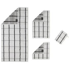 CAWÖ Noblesse Square 1079 Waschhandstuch 16 x 22 cm weiß