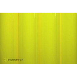 Oracover 25-031-010 Klebefolie Orastick (L x B) 10m x 60cm Gelb (fluoreszierend)